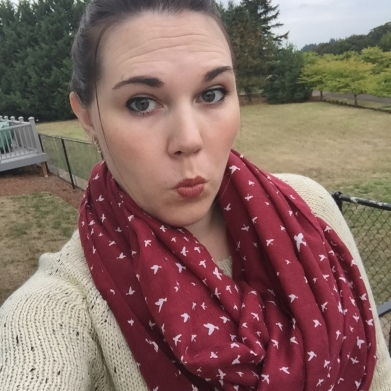 I won this scarf in a Stitch Fix accessories photo competition!