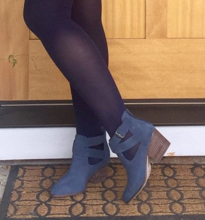 Sole Society Azure Suede Bootie-1