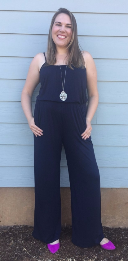 Stitch Fix Kaileigh Adalia Knit Jumpsuit
