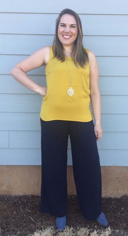Stitch Fix Noisy May Catriona Blouse, Kaileigh Adalia Knit Jumpsuit, Sole Society Azure Sude Bootie
